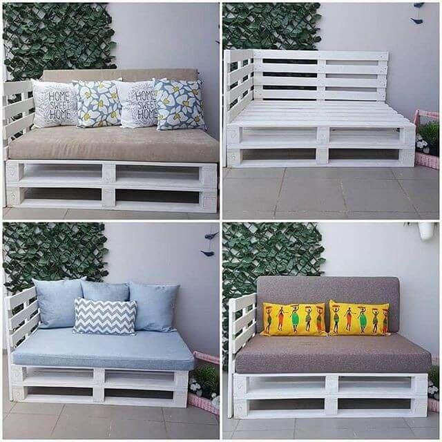Pallet Storage box And Wall Shelf - #outdoorpatiodecorating
