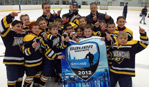 Congratulations to Nate Heithoff and the 2003 Avalanche on their