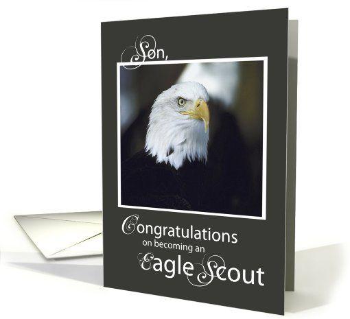 Son Congratulations On Eagle Scout Card Eagle Scout Scout Eagle Scouts