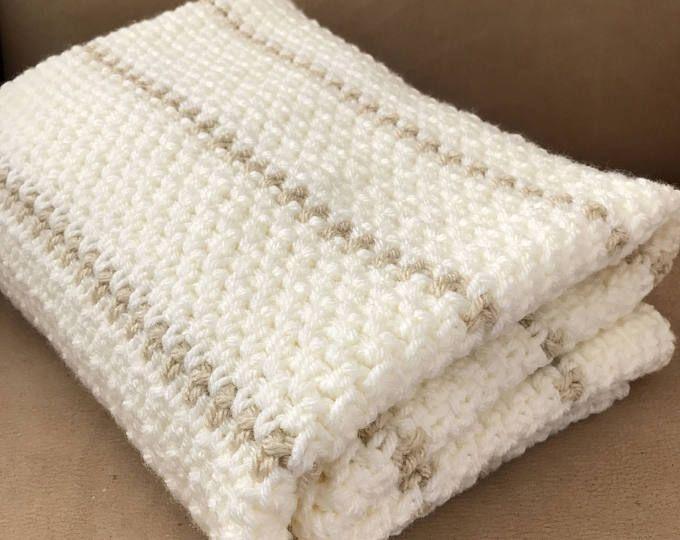Crochet Blanket Pattern Arielle\'s Square Baby Blanket   Etsy ...