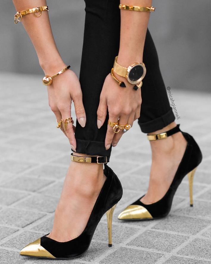 be339faac1b gold tip heels
