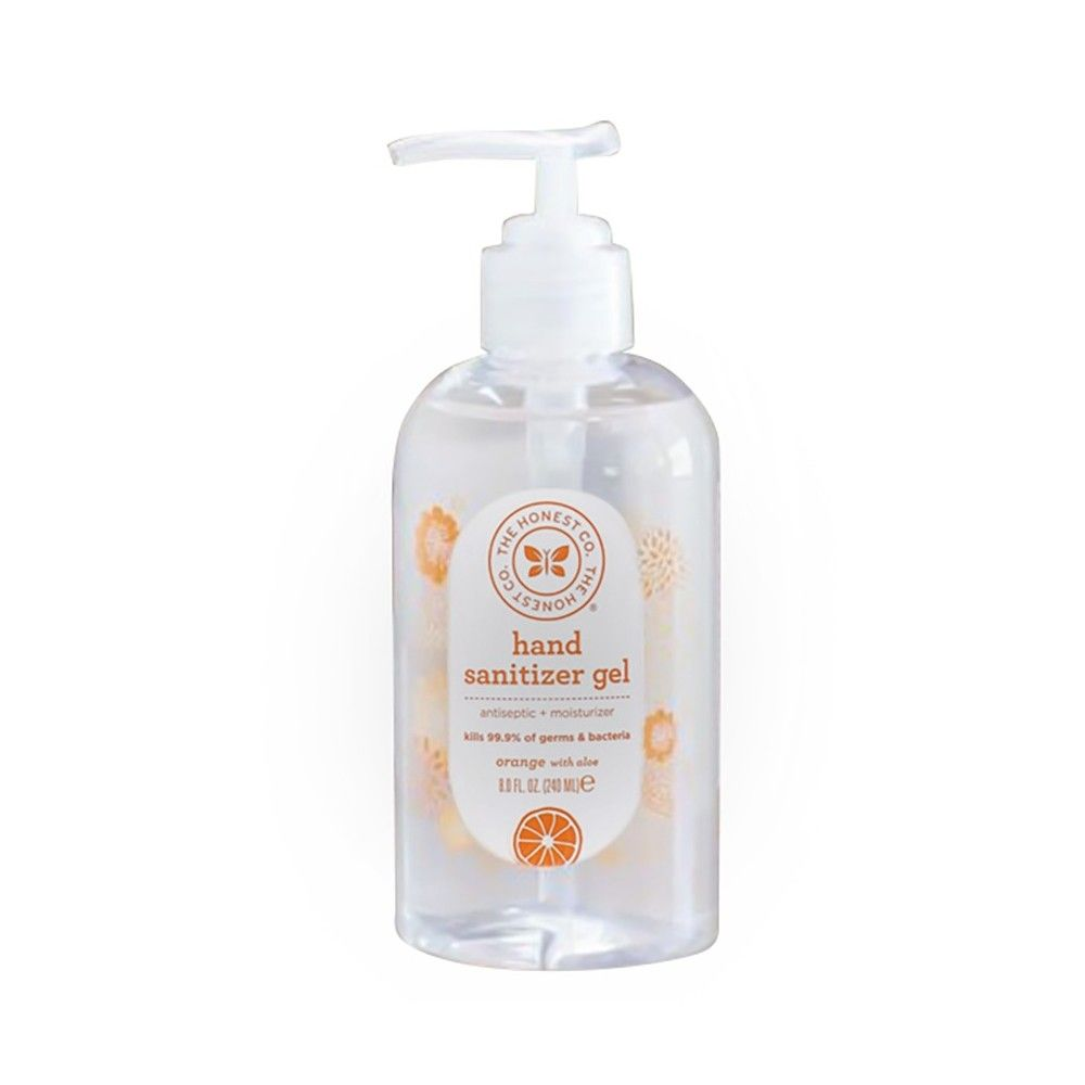 Honest Company Hand Sanitizer Gel 8oz Hand Sanitizer Sanitizer Gel