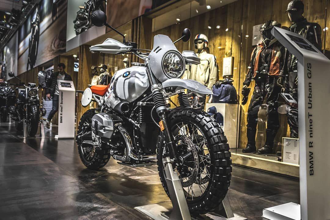 The Bmw Ninet Urban Gs Autosalon Rideordie Justride Motorcycle