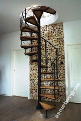 Schody Krecone Spiralne Balustrady Kute 5696445584 Oficjalne Archiwum Allegro Spiral Staircase House Styles Stairs