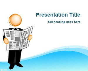 Free Press Release Powerpoint Templates Powerpoint Templates