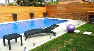 American Glass Line Pool Fence Pool Landscaping Backyard Fences Pool Fence