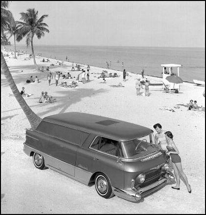 GMC L'Universelle Motorama Concept for 1955