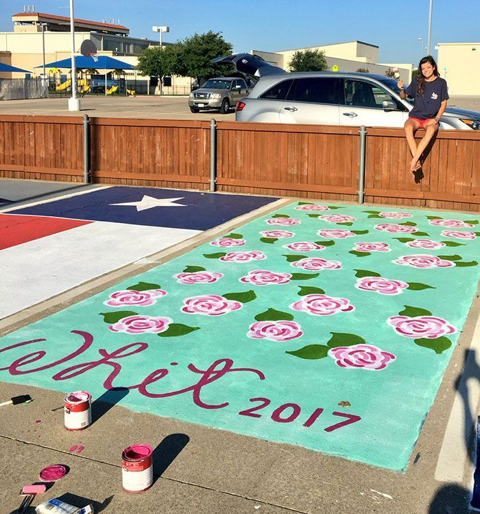 Image result for painted parking spaces seniors Parking