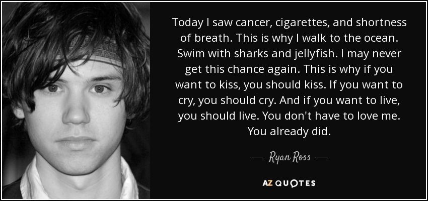 TOP 7 QUOTES BY RYAN ROSS | A Z Quotes | Fandoms For Days in 2019