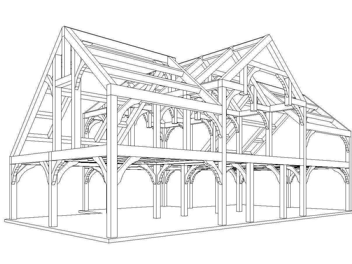 Timber Frame Home Plans Designs | Sheds, Workshops,with Apartments ...