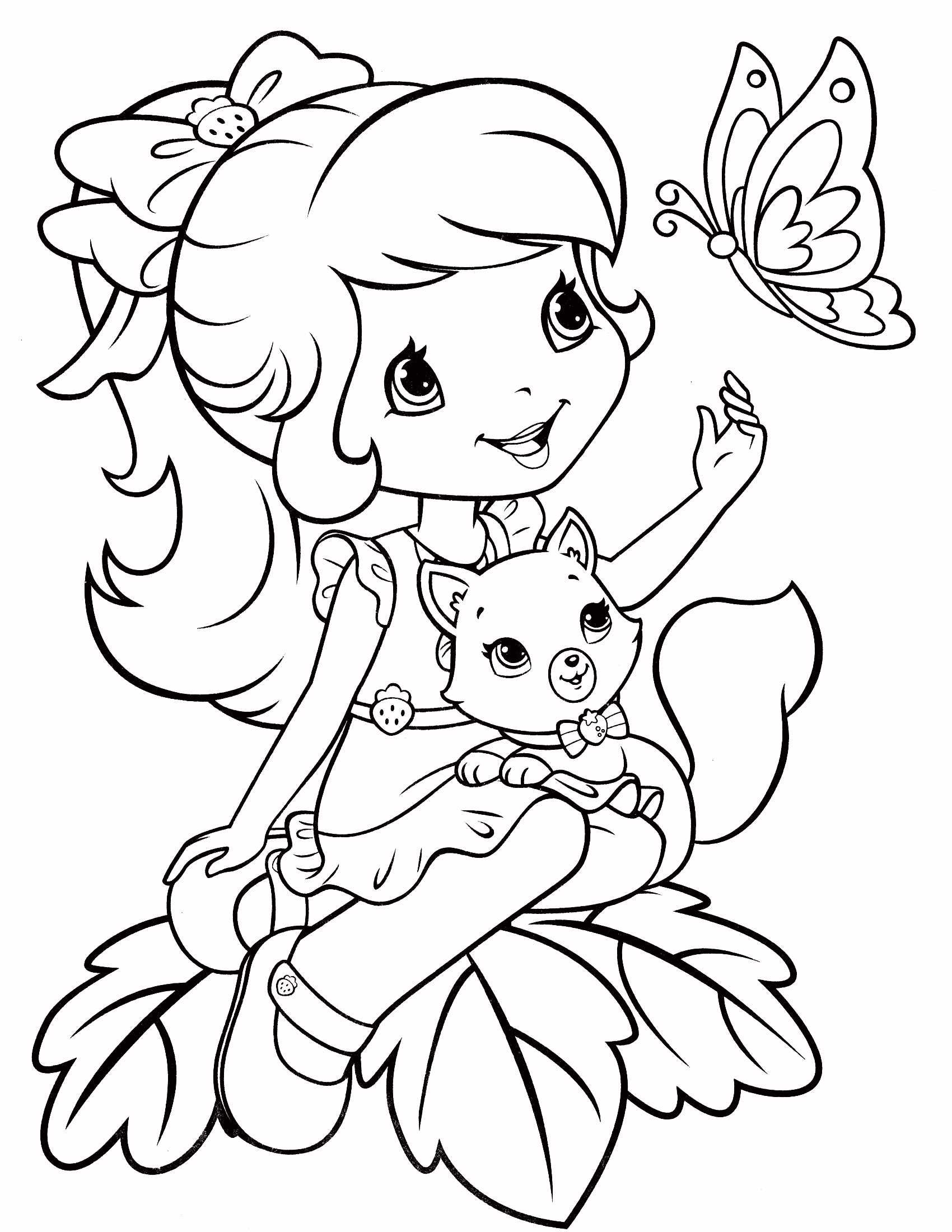 Strawberry Shortcake Coloring Page 73 Jpg 1700 2200 Puppy Coloring Pages Strawberry Shortcake Coloring Pages Free Printable Coloring Pages
