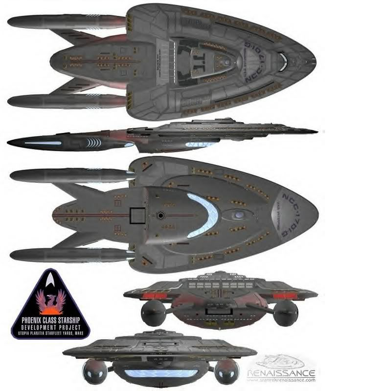 Star Trek Phoenix class   Star trek starships, Star trek