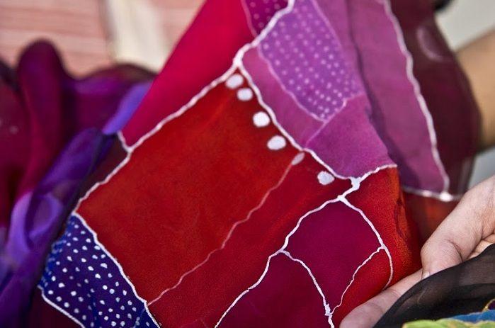 Naseema Tierra.100% destinado al proyecto Marina Silk, ayudamos a mujeres de India a mejorar su vida. www.luxeli.com