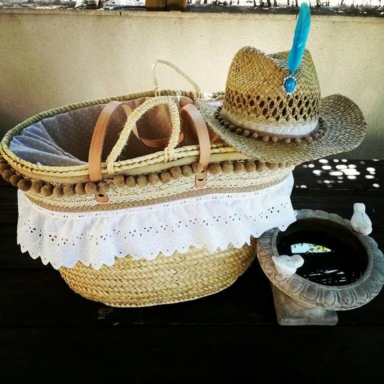 Cesta con sombrero a conjunto