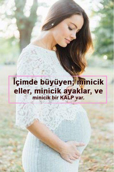 Hamile Annenin Bebeğine En Güzel Sözleri - BilgiSozler.com
