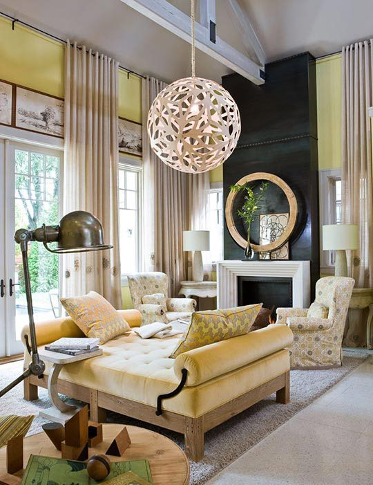 Family Room Designs, Furniture and Decorating Ideas   home - designer couchtische modern ideen