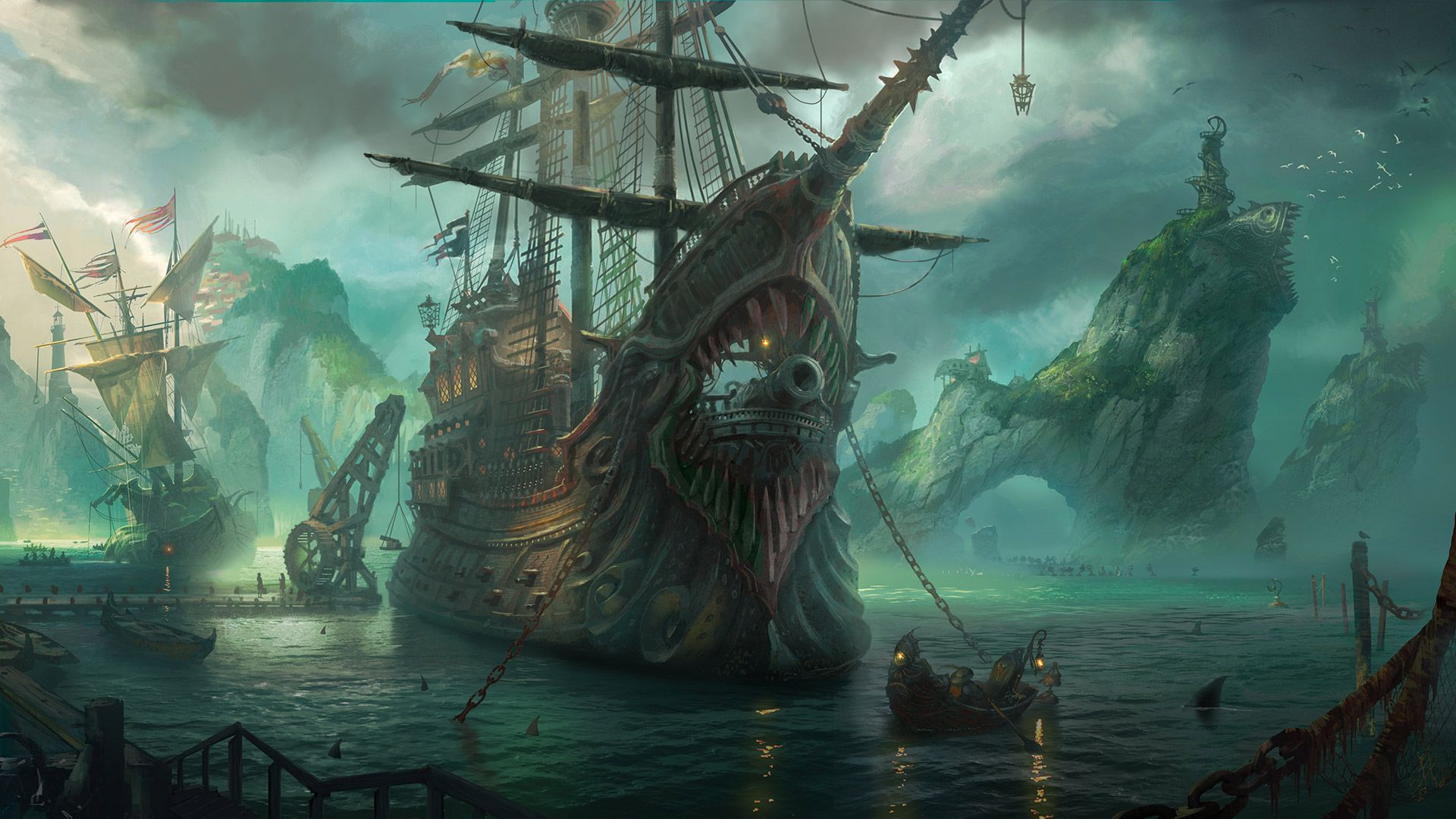 Bilgewater best Picture | Ship artwork, Pirate art, League of legends