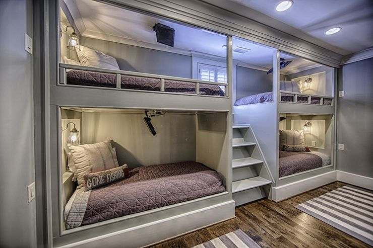 4 Bunk Beds Cottage Boy S Room Toulmin Homes Bunk Bed