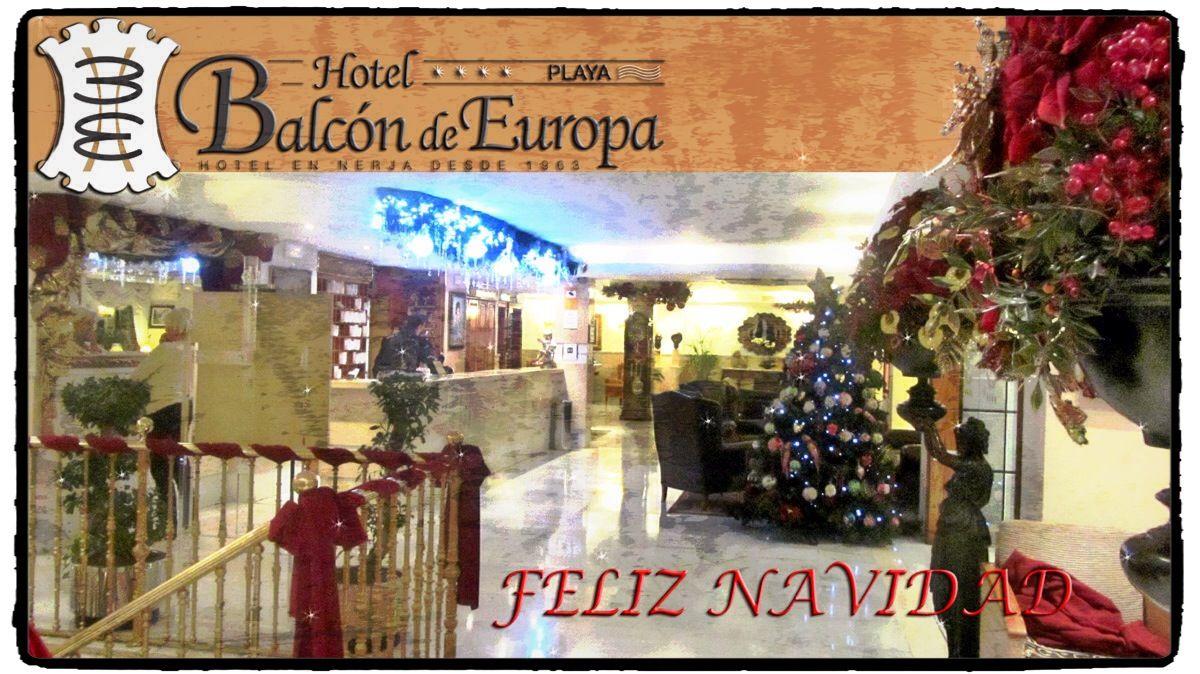 El Hotel Balcon De Europa Les Desea Feliznavidad Y Prospero Ano