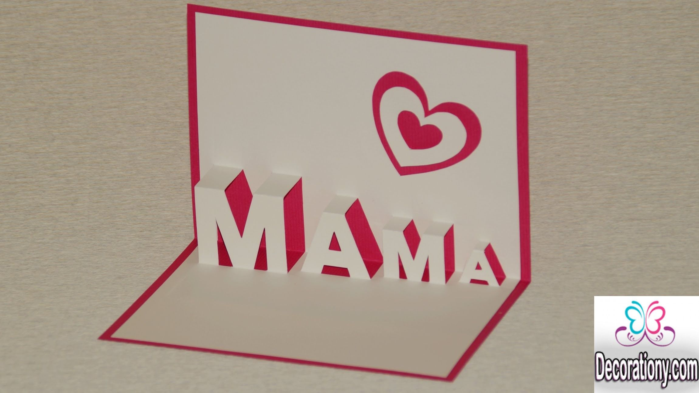 mothers day cards 12 lovely diy mothers day cards ideas. Black Bedroom Furniture Sets. Home Design Ideas