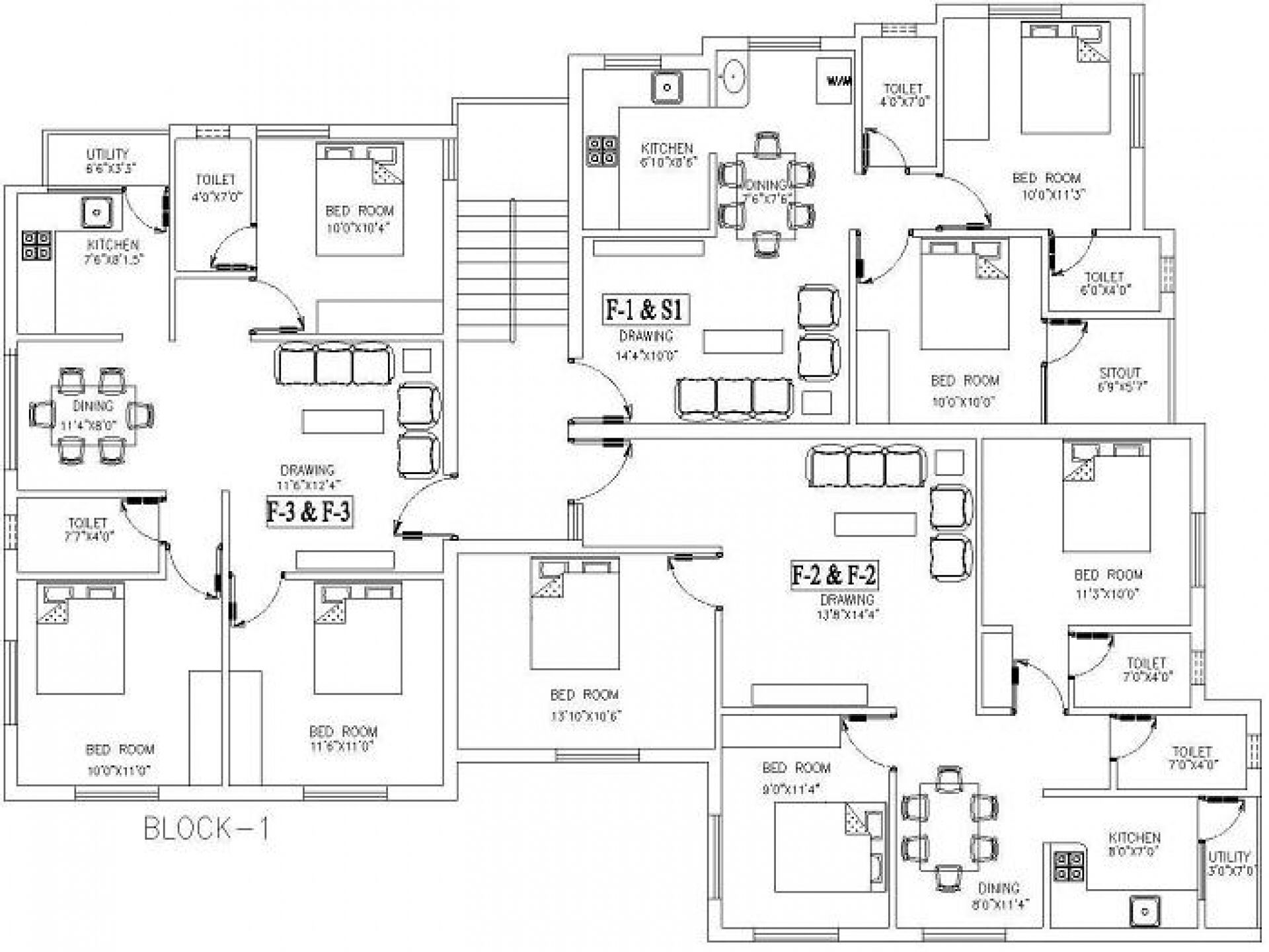 Image From Http Decozt Com Wp Content Uploads 2014 11 Besf Of Ideas Simple Luxury Contemporary Ranch Drawing House Plans Simple Floor Plans House Floor Plans
