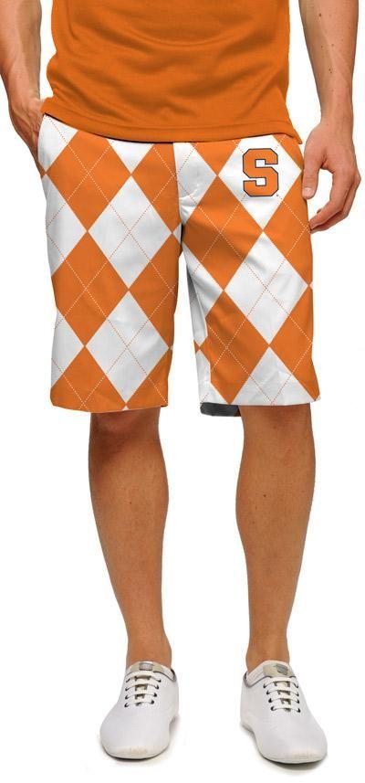 Loudmouth Syracuse Orangemen Men/'s Shorts- XXXL