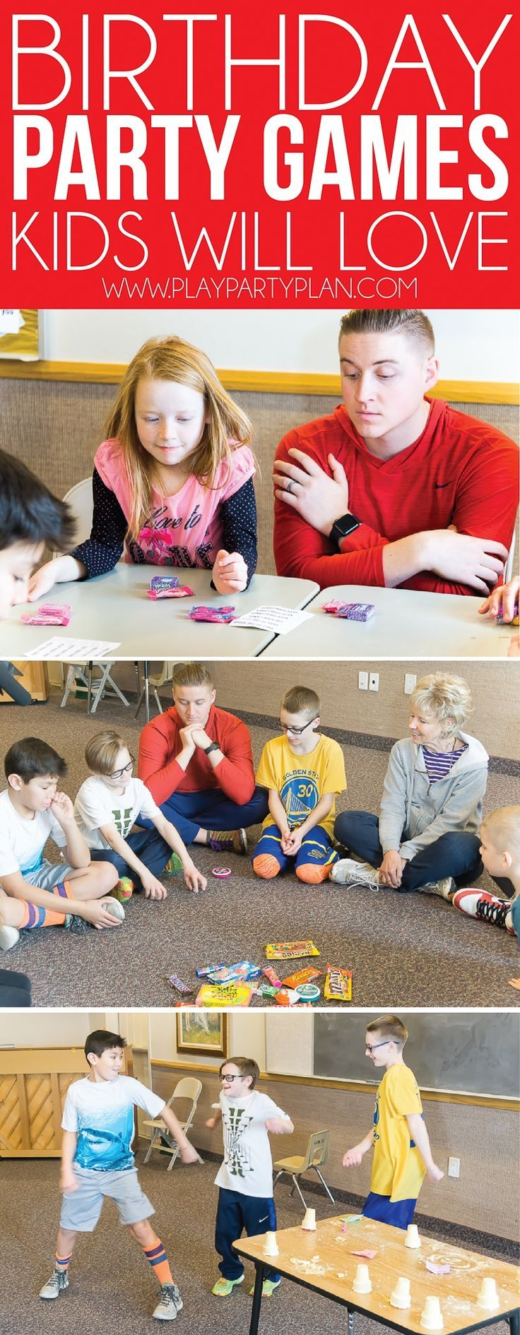 Hilarious Birthday Party Games Birthday party games for