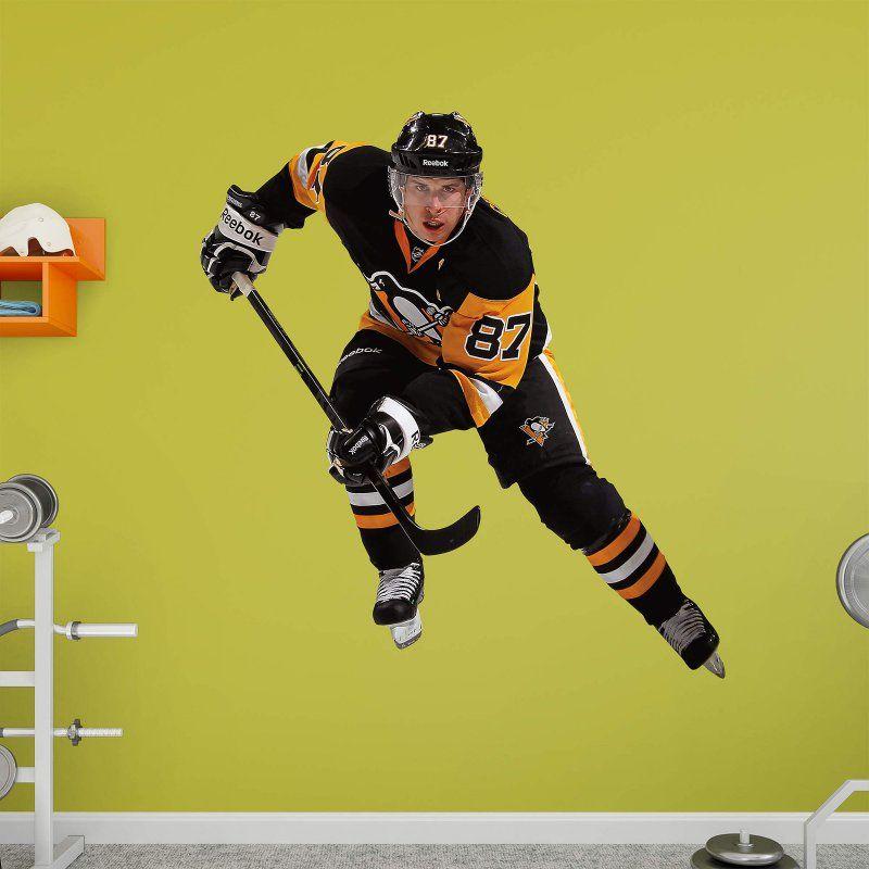 Fathead NHL Pittsburgh Penguins Sidney Crosby Center Wall Decal - 71-71486 & Fathead NHL Pittsburgh Penguins Sidney Crosby Center Wall Decal - 71 ...