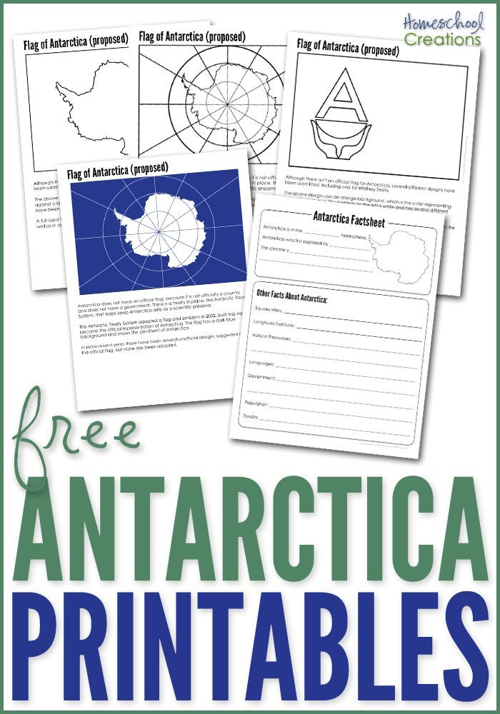 Antarctica Geography Printables Free Printables