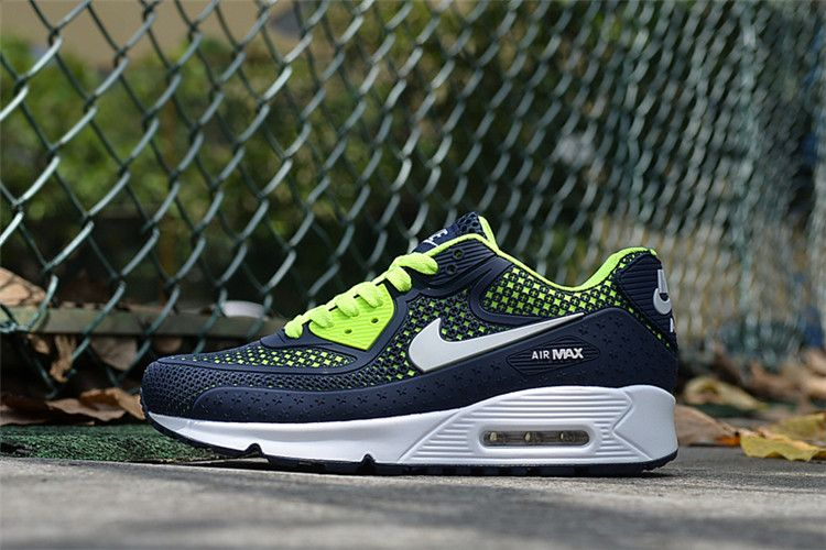 new arrival 806e5 f79c6 2017 Nike Air Max 90 Full Palm Nano DIsu Technology Dark Blue-Green