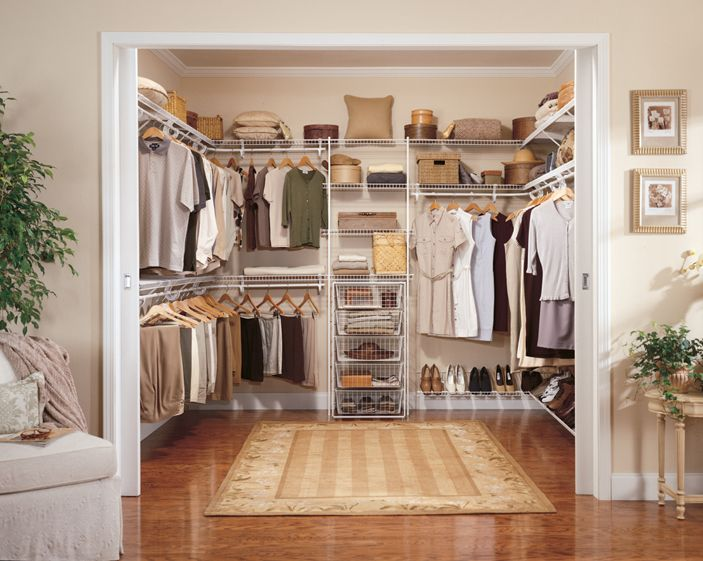 Designed For Walk In Closets And Crafted Solid Wood, This Wardrobe  Organizer Includes Adjustable
