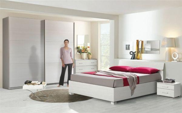 Une chambre blanche pour un sommeil purificateur Pinterest