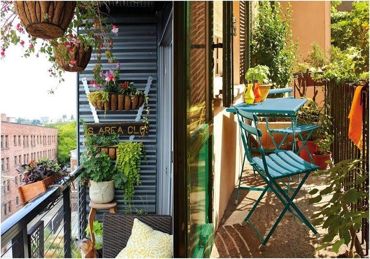 Decoracion con plantas colgantes buscar con google for Patios decorados con plantas