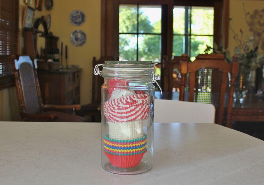 Pattie pan storage #colourful #cupcakecases