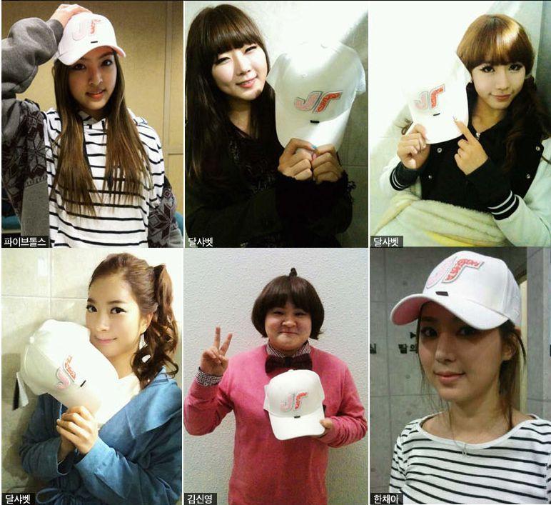 Baek Ji Young Style JT Just in Time Korean Fashion Baseball Cap