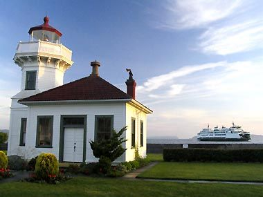 Mukilteo, Washinton - a neat town close to our house with a great little lighthouse.