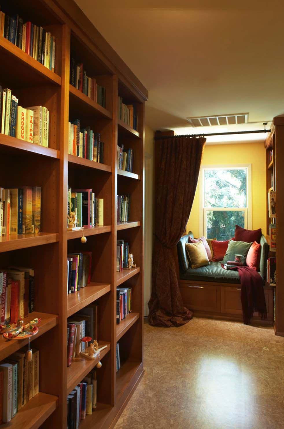Super 36 Fabulous Home Libraries Showcasing Window Seats Writing Ncnpc Chair Design For Home Ncnpcorg
