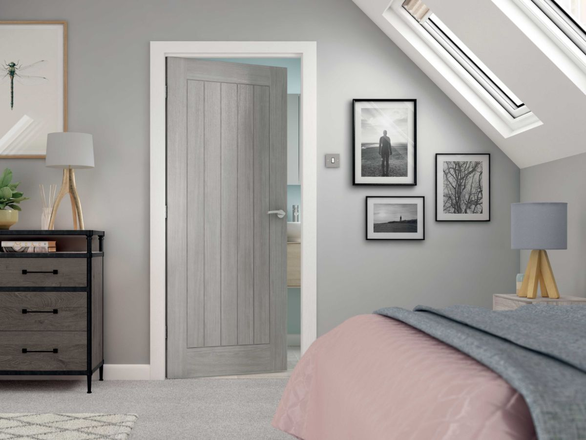 Colorado Gorgeous Grey Cottage Style Door Perfect For A Modern