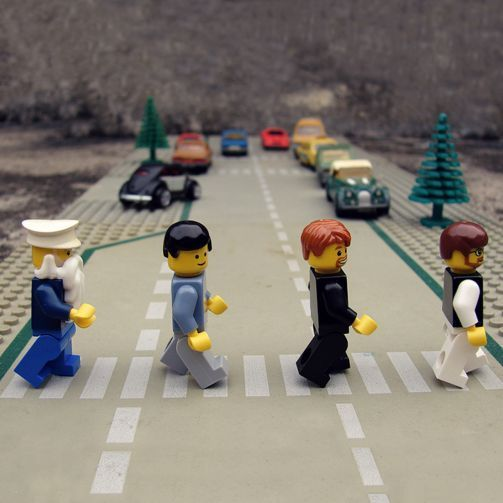 #lego revisiting #abbeyroad #beatles