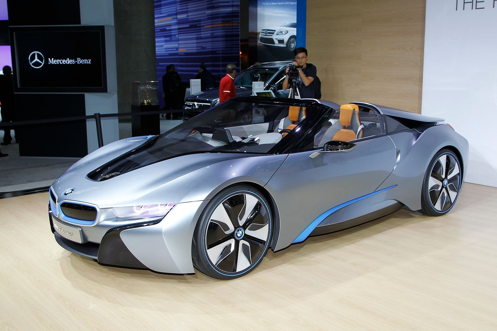 BMW i8 Spyder Concept is likely to reach production in 2015 | Man ...