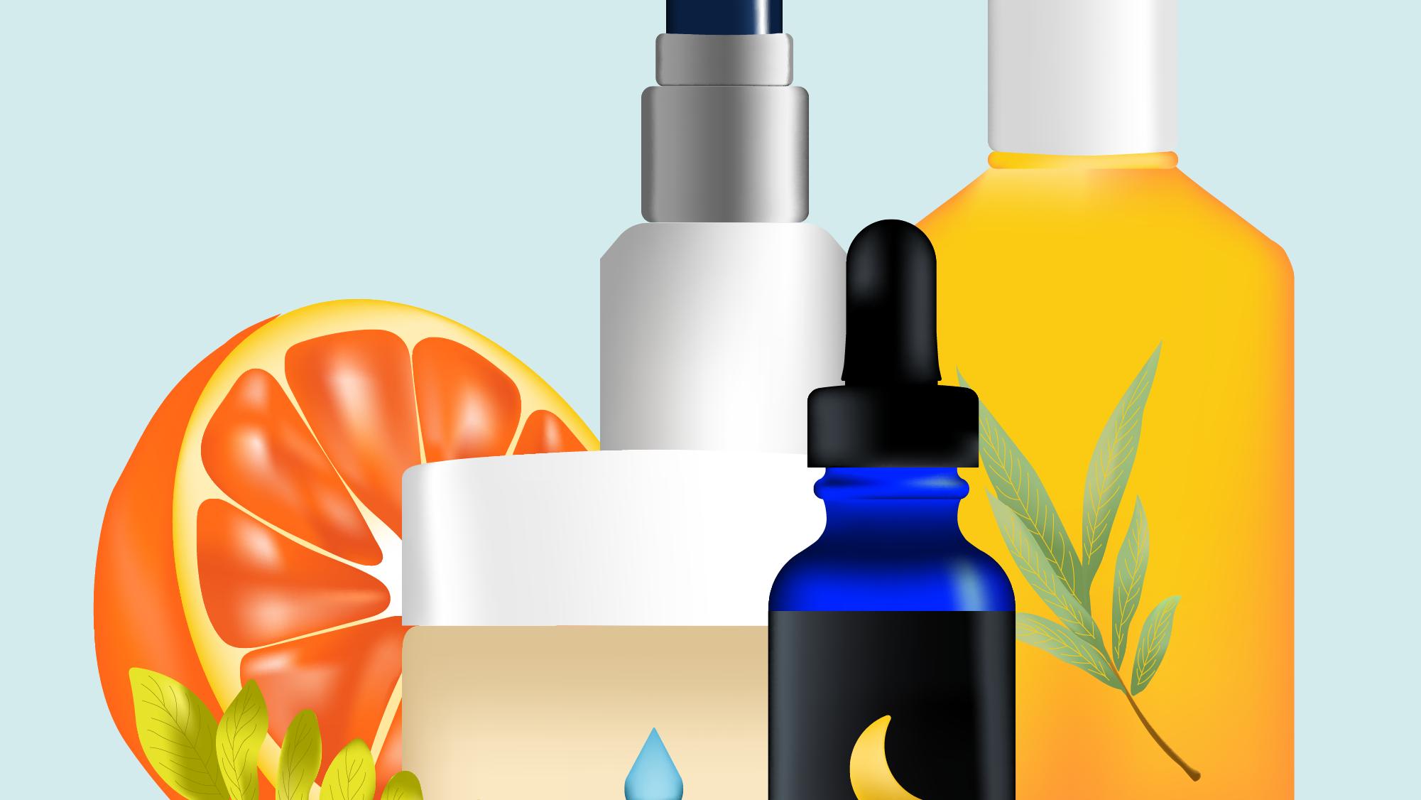 How To Use Vitamins Acids Skin Care Regimen Treatment in