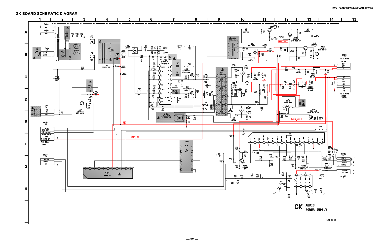 Inductive Switching Power Supply Circuit Diagram Under Manual Guide