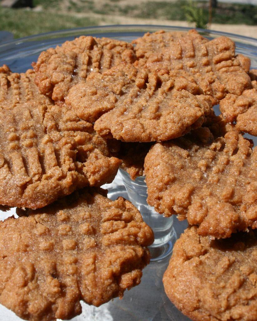 Flourless Peanut Butter Cookies Flourless peanut butter