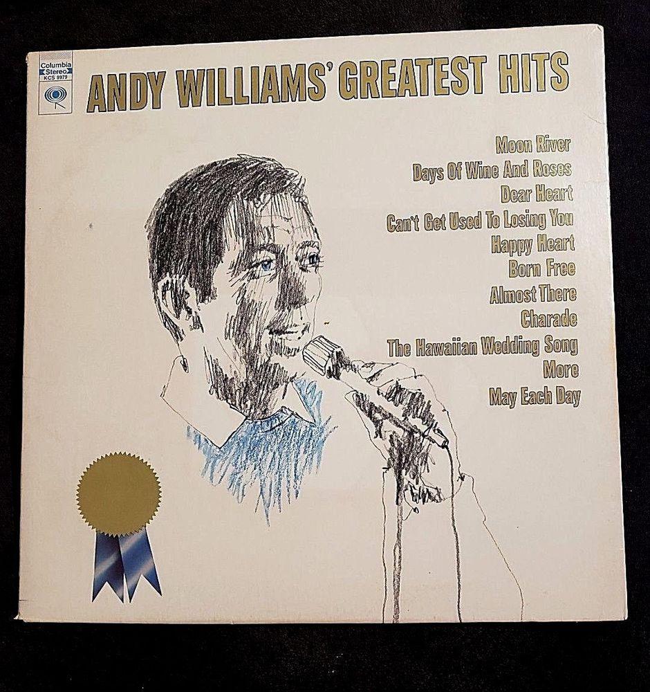 Andy Williams Greatest Hits Lp Album Vinyl Columbia Records Kcs