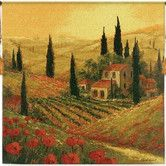 Found it at Wayfair - Poppies of Toscano II BW Tapestry
