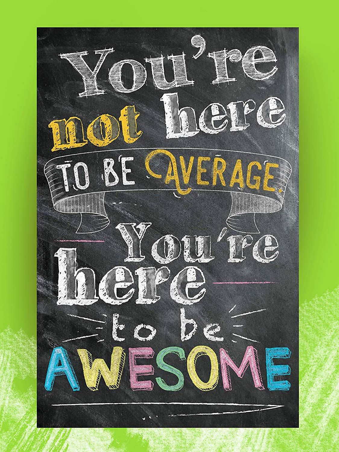 Amazon Com Motivational And Inspirational Posters And Classroom Decora Inspirational Quotes Posters Motivational Posters For Office Motivational Quote Posters