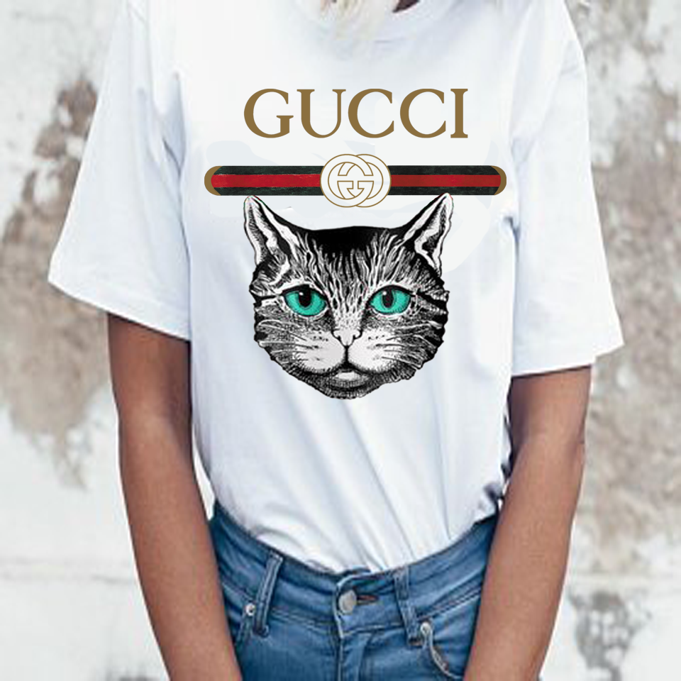 43b65420c448 Fashions shirt women's gucci tshirt ,cat gucci t_shirt , gucci tees ...