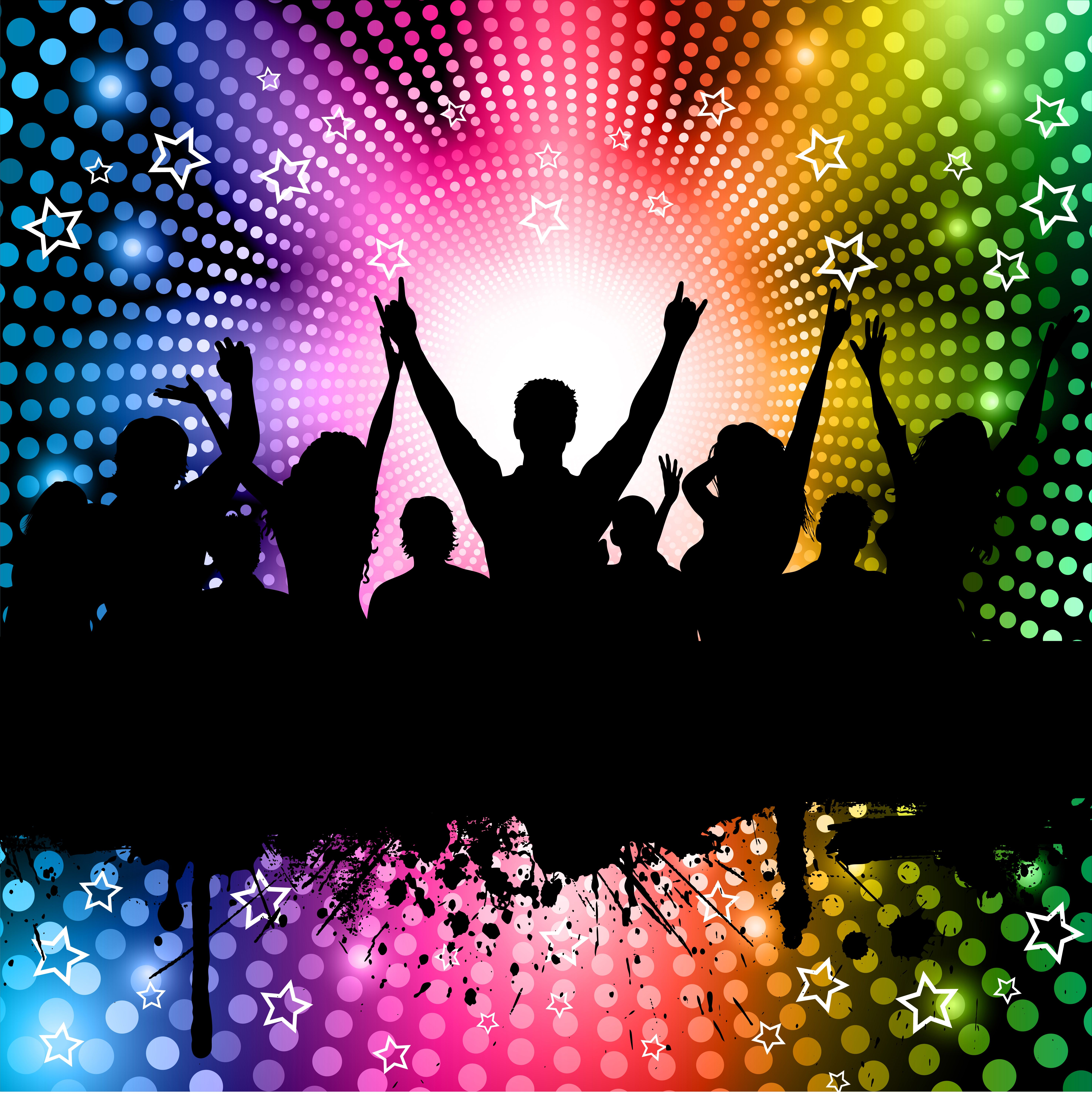Party Background Vector Choose From Thousands Of Free Vectors Clip Art Designs Icons And Illustrations Created By Artists World Party Background Karaoke Dj