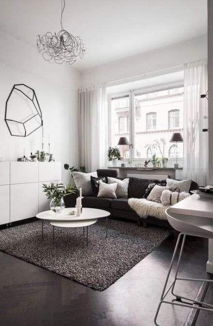 57 Ideas for living room grey walls dark floors – Industrial Home Decor