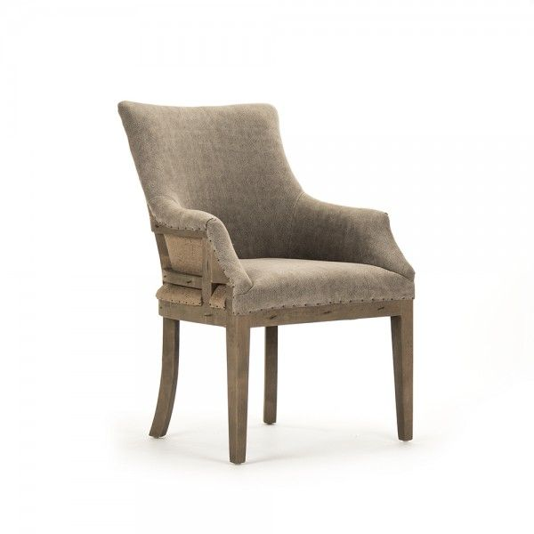 Liberte Deconstructed Arm Chair  Dining Chairs  Seating 565 Gorgeous Leather Dining Room Chairs With Arms Decorating Inspiration